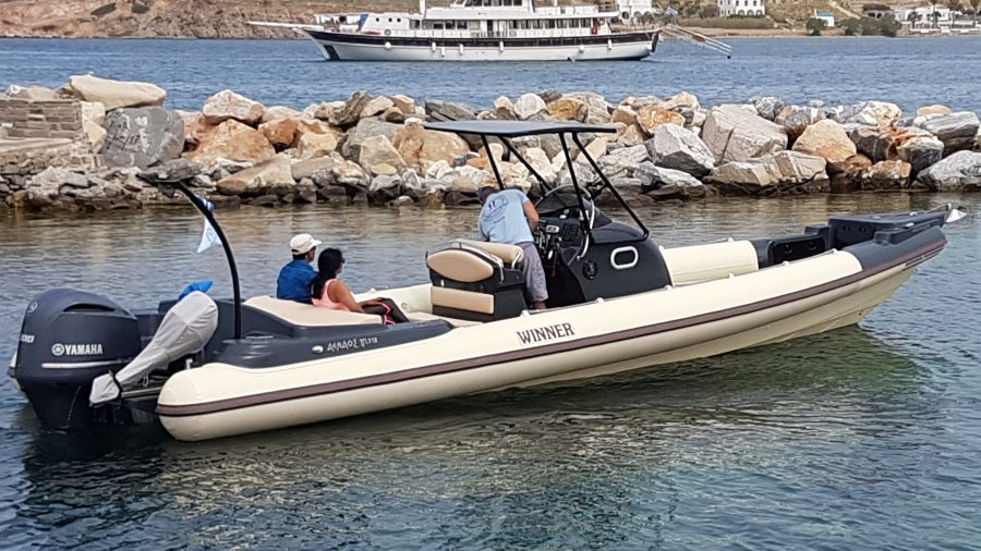 Winner Sport 33 (10m) Rib Motor Boat.